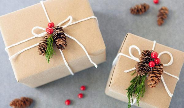 оригинально упаковываем подарок